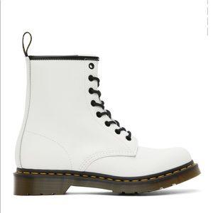 NWOT Dr. Martens White 1460 Boots